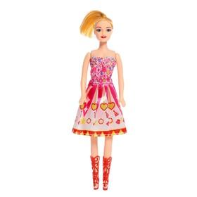 Кукла модель «Даша» в платье, МИКС Ош