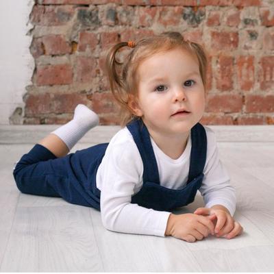 Полукомбинезон Kidi Kids, рост 62-68 см, цвет синий - Фото 1