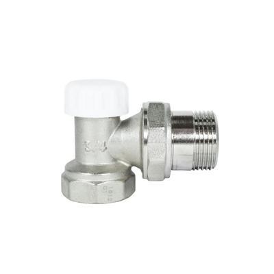 """Клапан для радиатора STI, 3/4"""", прямой, запорный"""
