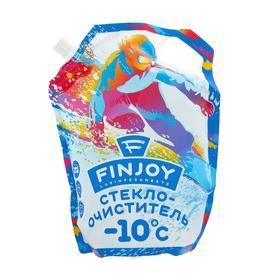 Незамерзающий очиститель стёкол FIN JOY, смузи киви-клубника, -10, 3 л Ош