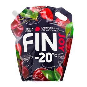 Незамерзающий очиститель стёкол FIN JOY FRUITY cherry, спелая черешня, -20, 4 л Ош