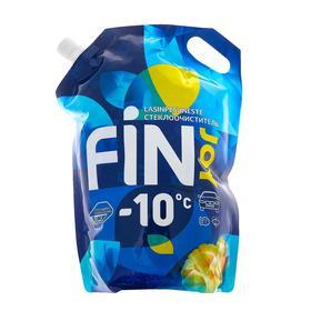 Незамерзающий очиститель стёкол FIN JOY INDIGO тропический манго, -10, 3 л Ош