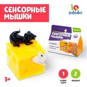 Развивающая игрушка «Сенсорные мышки»