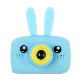 Детский цифровой фотоаппарат KIDS Fun Camera Bunny 'Зайчик', модель 4351777, голубой Ош