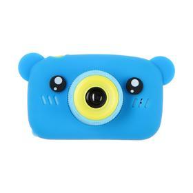 Детский цифровой фотоаппарат KIDS Fun Camera Bear 'Мишка', модель 1252682, синий Ош