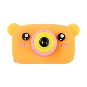 Детский цифровой фотоаппарат KIDS Fun Camera Bear 'Мишка', модель 1252682, оранжевый Ош