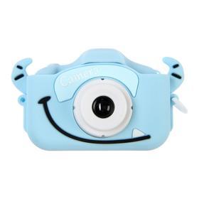 Детский цифровой фотоаппарат Cartoon Digital Camera Bull 'Бычок', модель 5654057, голубой Ош