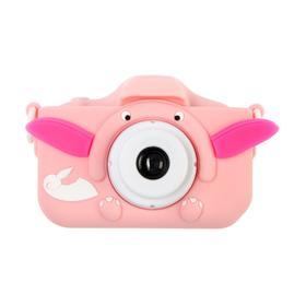 Детский цифровой фотоаппарат Cartoon Digital Camera Dandy 'Слоник', модель 9911564, розовый Ош