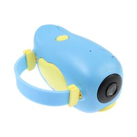 Детский цифровой фотоаппарат Wings 'Птичка', модель 2727738, голубой Ош