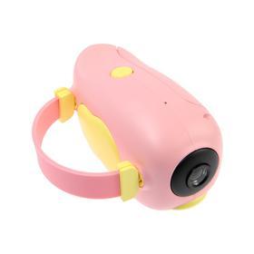 Детский цифровой фотоаппарат Wings 'Птичка', модель 2727738, розовый Ош