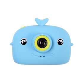 Детский цифровой фотоаппарат Whale 'Кит', модель 9467596, синий Ош