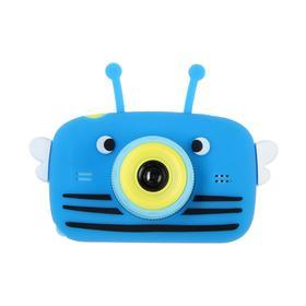 Детский цифровой фотоаппарат Children's Fun Camera Bee 'Пчела', модель 4356857, синий Ош