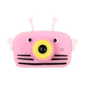 Детский цифровой фотоаппарат Children's Fun Camera Bee 'Пчела', модель 4356857, розовый Ош