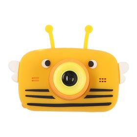 Детский цифровой фотоаппарат Children's Fun Camera Bee 'Пчела', модель 4356857, желтый Ош