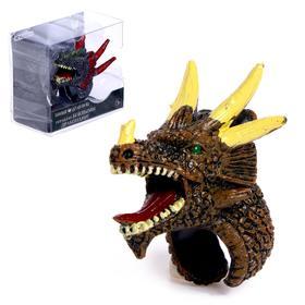 Игровое кольцо «Боевые драконы», пластик, 3,5х4 см, 5х2 см, 5 см, 12 видов, МИКС Ош