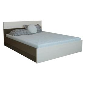 Кровать Юнона 800х2000, Венге/Дуб Ош