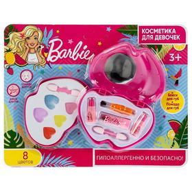 Косметика для девочек «Барби» блеск, помада