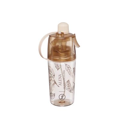 Бутылка для воды By Akhmadullina, с распылителем, 400 мл - Фото 1