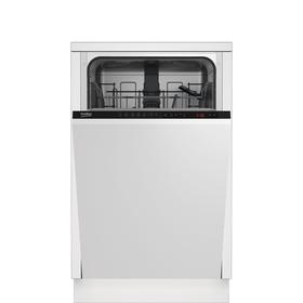 Посудомоечная машина Beko DIS25010, класс А, 10 комплектов, 5 программ, белая Ош