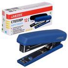 Cтеплер №10 на 12 листов, deVENTE Soft Touch, пластиковый корпус, с встроенным антистеплером, микс* 2 цвета