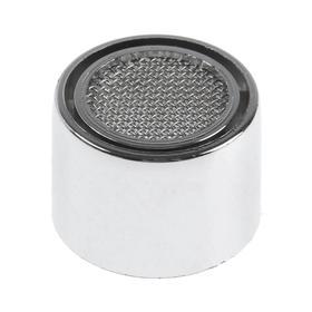 Аэратор ZEIN, внутренняя резьба, d=22 мм, сетка металл, корпус пластик, цвет хром