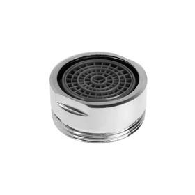 Аэратор ZEIN, наружная резьба, d= 24 мм, сетка пластик, корпус металл, цвет хром