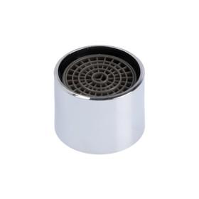 Аэратор ZEIN, внутренняя резьба, d=22 мм, сетка пластик, корпус металл, цвет хром
