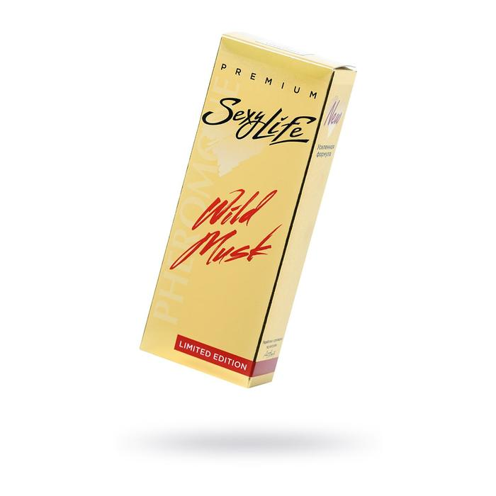 Духи с феромонами Wild Musk №13 Roses Musk, женские, 10 мл