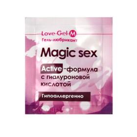 Гель-любрикант 'LOVEGEL M', 4 г Ош