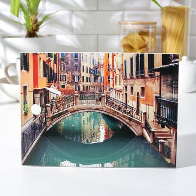 Доска разделочная «Мостик», 18,5×25 см - Фото 1