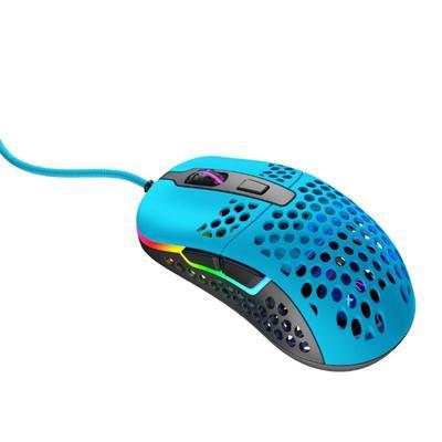 Мышь Xtrfy M42 RGB, игровая, проводная, оптическая, 16000 dpi, синяя - Фото 1
