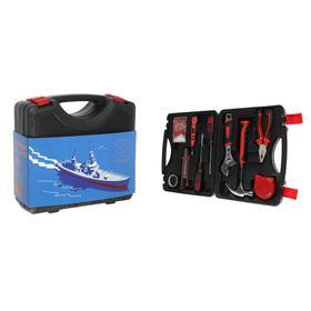Набор инструментов в кейсе TUNDRA '23 Февраля', подарочная упаковка, 15 предметов Ош