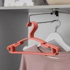Вешалка-плечики для одежды детская «Классика», размер 30-34, цвет МИКС