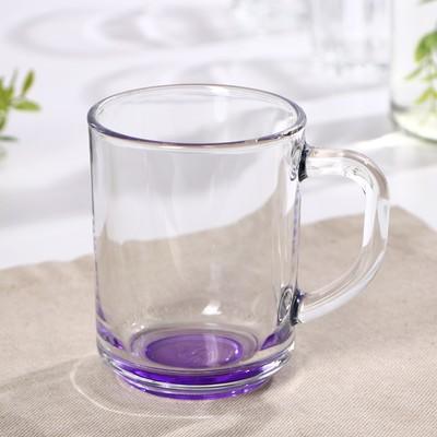Кружка «Джем», 250 мл, цвет фиолетовый - Фото 1