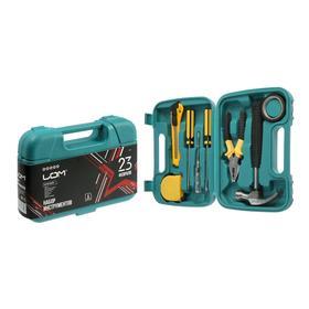 Набор инструментов в кейсе LOM '23 Февраля', подарочная упаковка, 8 предметов Ош