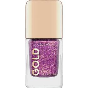 Лак для ногтей Catrice Gold Effect nail polish, тон 06 Splendid Atmosphere фиолетовый