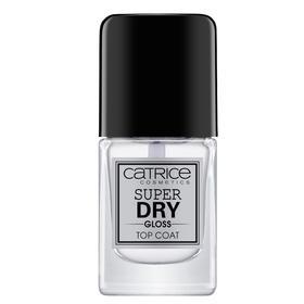Сушка для ногтей Catrice Super Dry Gloss Top Coat, прозрачный
