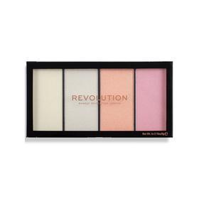 Палетка хайлайтеров Revolution Makeup Reloaded Lustre, оттенок Lights Cool