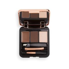 Набор для моделирования бровей Revolution Makeup Brow Sculpt Kit, оттенок Dark brown