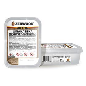 Шпаклевка ZERWOOD SHD по дереву латексная белая  0,3кг Ош