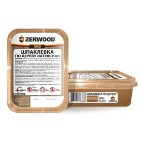 Шпаклевка ZERWOOD SHD по дереву латексная орех  0,3кг Ош