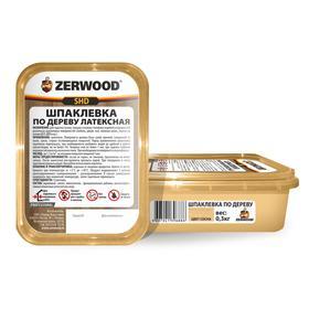 Шпаклевка ZERWOOD SHD по дереву латексная сосна  0,3кг Ош