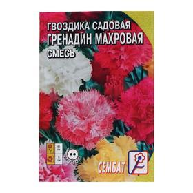 Семена цветов Гвоздика садовая 'Гренадин', махровая смесь 0.05 г Ош