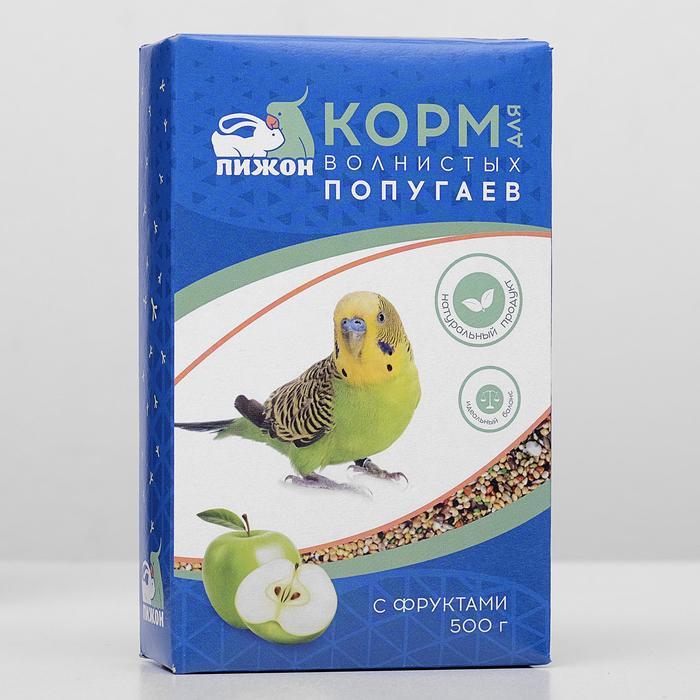 Корм Пижон для волнистых попугаев, 500 г