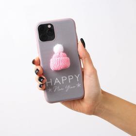 Чехол для телефона iPhone 11 pro «Счастливый год», с дополнительным элементом 7,14 х 14,4 см   51166