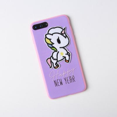 Чехол для телефона iPhone 7,8 plus «Единорог», с дополнительным элементом 7,7 х 15,8 см - Фото 1