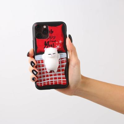 Чехол для телефона iPhone 11 pro «Котенок», с дополнительным элементом 7,14 х 14,4 см - Фото 1