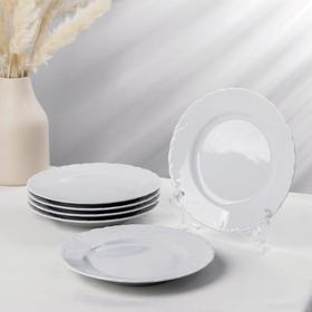 Набор тарелок десертных Rococo, d=19 см, 6 шт