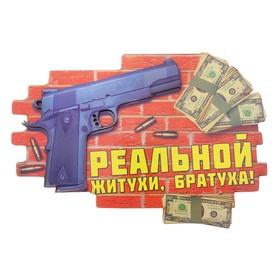 Магнит денежный «Реальной житухи» Ош