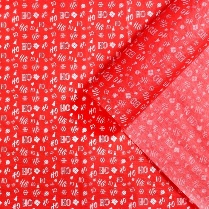 Бумага упаковочная тишью Ho - Ho, 50 70 см